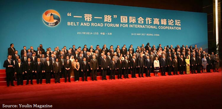 Belt and Road Summit 2017 in Beijing, China.